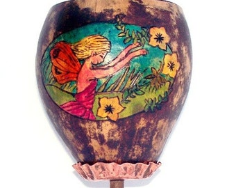 Gourd Goblet Fairy with  Copper