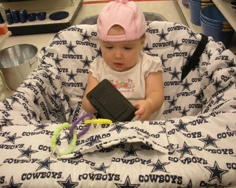 Dallas Cowboys Baby -  Shopping Cart Cover