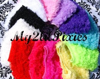 Chiffon Ruffle Shorts- all around Ruffle Short- Bloomer -Photo Prop- MY2LILPIXIES