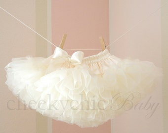 PETTISKIRT IVORY Demi Luxe by Cheeky Chic Baby