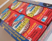 Vintage Donruss Baseball Cards Wax 1988 36 Packages in Box