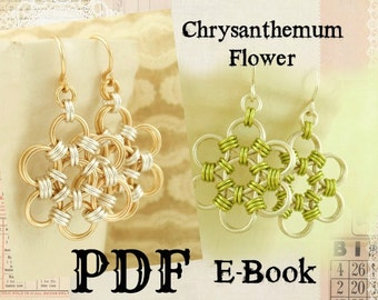 Chrysanthemum Flower PDF - Basic Instructions - Expert Tutorial
