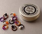 ringOs Mandarin Duck - Snag-Free Ring Stitch Markers for Knitting