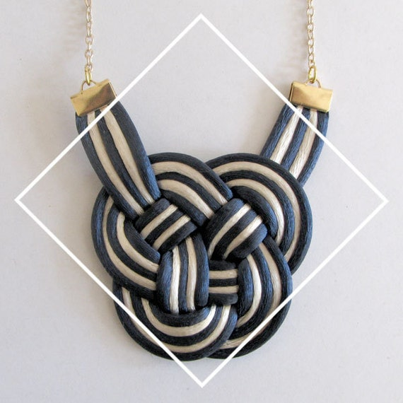 SPECIAL 50% OFF // The Navy Knot