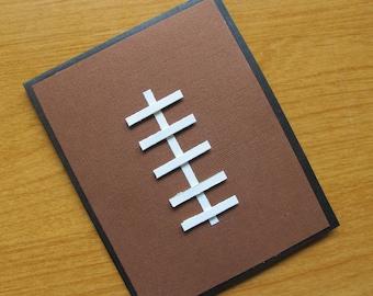 NFL Party Invitation/Football Party Invitation/Realistic Football Invitation