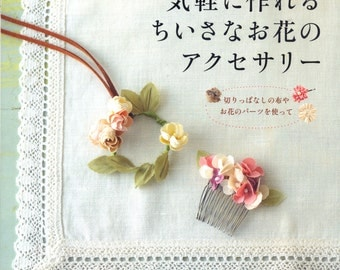 Easy Corsage DIY - Japanese craft book