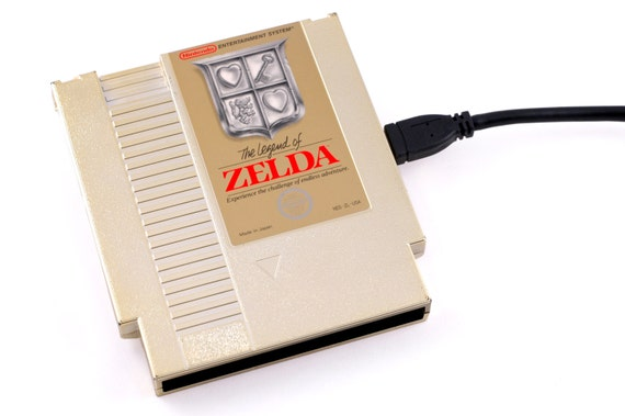 RESERVED for liliyay - 1tb USB3 NES Hard Drive - The Legend of Zelda