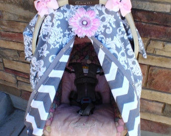Carseat canopy FREE shipping today  / Car seat cover / car seat canopy / carseat cover / carseat canopy / nursing cover