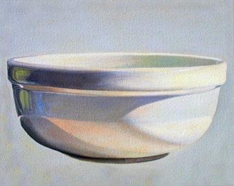 """Art Print """"BOWL"""" From Original OIL Painting Still Life, kitchen art, stillife"""