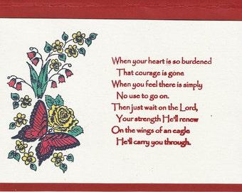 A Burdened Heart
