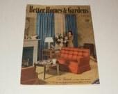 Vintage Better Homes and Gardens Magazine April 1940-- Art - Scrapbooking - Vintage 1940s Ads
