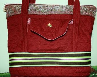Hand Crafted By Maggie Laptop -Book bag- Messenger-Crossbody -Back to School Sale Sale.