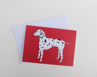 Dalmatian - Dog Card - Blank