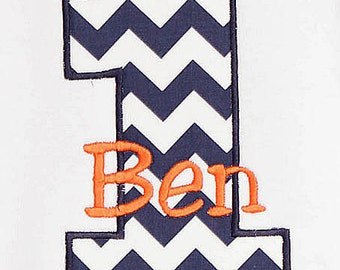Boys Birthday, Personalized Birthday Boy Shirt, Number, Monogrammed, Appliqued, Custom Fabric Choices and Colors, Boys Birthday Shirt