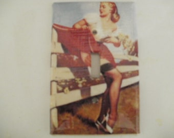 Countryside Pin Up Girl
