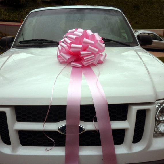 Items Similar To Big Candy Pink Car Bow Baby Girl Shower