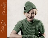 Spool Cotton (35) c.1934 - Vintage Patterns for Fashions in Knitting & Crochet