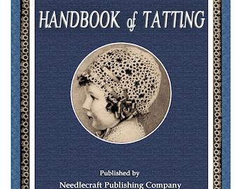 Handbook of Tatting c.1915 - Fabulous Pattern Book of Tatted Laces