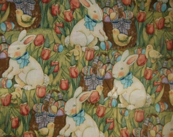 Easter Fabric--Old Fashioned--Nice--Low Price