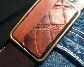 Sinple Brown Boho belt buckle