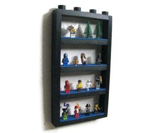 Mini Figure Display Wall Shelf - Display your Building Block Mini Figures on the Wall, Base plates