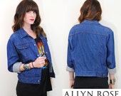 Blues For Two- Vintage 1970s Maverick Blue Denim Jean Jacket- Size Large