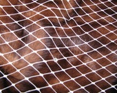 "Ivory 12 "" wide rhinestones attached 1 yard for DIY birdcage veils, fascinators"