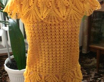 Crocheted Summer Sweater
