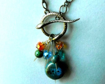 Snake Charmer Toggle Necklace