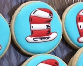 One dozen Cat in the Hat Yummy Delicious Cookies - Party Favors Dr. Seuss