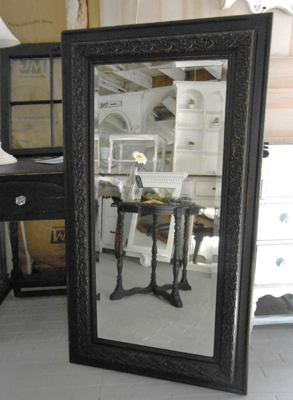 Mirror Black Furniture Pottery Barn Look