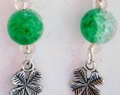 Four Leaf Clover Earrings