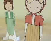 Jane Austen Costume Paper Dolls