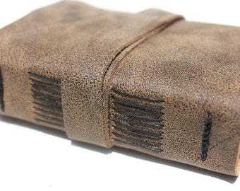 Medieval Journal or Sketchbook - Unique Leather - Handmade