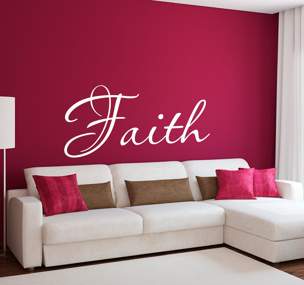 Wall decals religious high def photographs