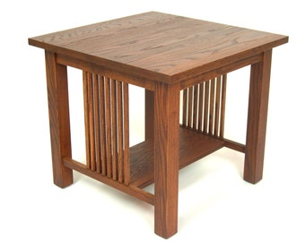 Mission Arts & Crafts Stickley style Square End Table