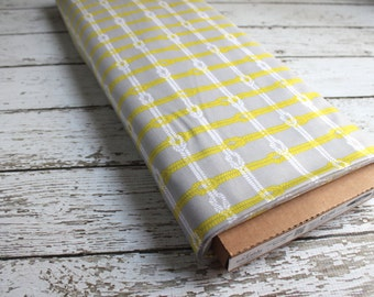 Maritime Modern by Marin Sutton and Riley Blake Designs, Gray Maritime Knotty Plaid  1/2 yard