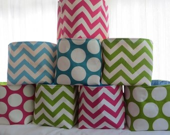 fabric bin storage organizer 8 x 8 x 8 Choose your fabric
