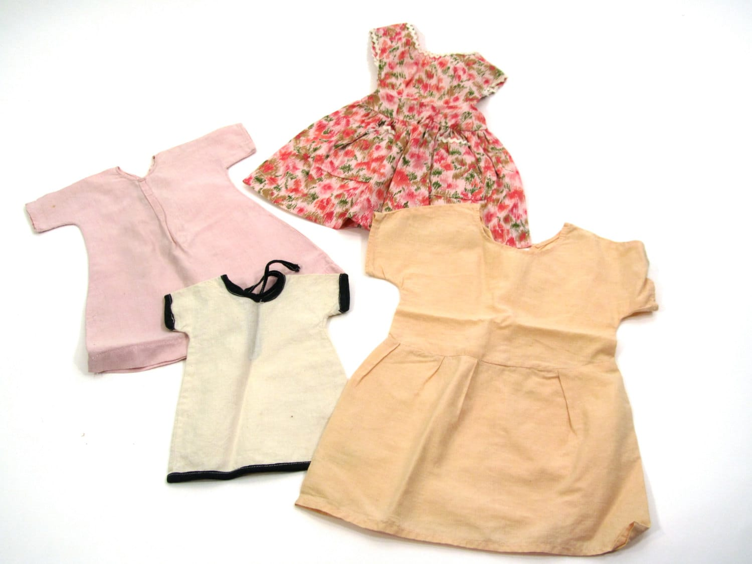 vintage 1950s baby doll clothes 4 dresses