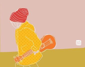 Carococo illustration by Carol-Anne Pedneault / Boheme 10x8