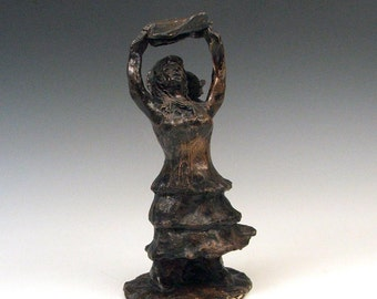 Goddess Dancing Sculpture: Woman in the Wind