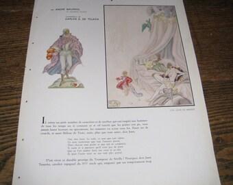 L'ILLUSTRATION - French Magazine Article - Don Juan -l'illustration