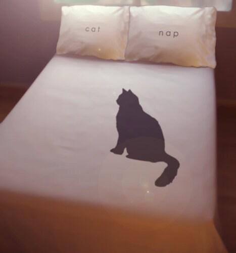 Cat pee on comforter