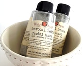 Charcoal Detox Facial Mask with Lavender and Tea Tree for Normal to Oily and Acne Prone Skin