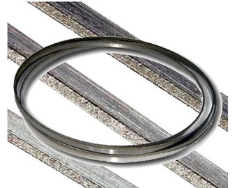 """GLS-204, KENT 59.5""""x1/4"""" Replacement Band Saw Blade Diamond Coated Fits Most 9"""" BandSaws"""