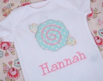 Baby Girl Clothes - Baby Girl Outfit - Personalized Baby Girl Shirt - Shaggy Rose Bodysuit