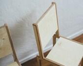 Modern Minimal Children's Chair (Order reserved for Jora)
