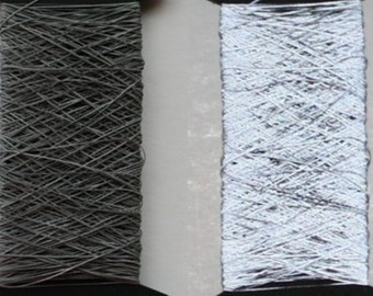 Limited time Reflective Yarn Thread Knitting Yarn Daylight Reflection Silver