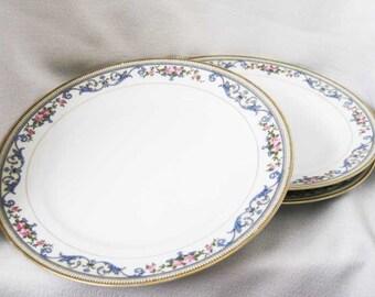 Vintage Noritake Chanlake Luncheon Plates(3)Circa 1921