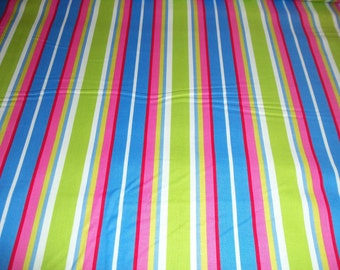 Just reduced - Michael Miller Le  Stripe in Sky - 1 yard